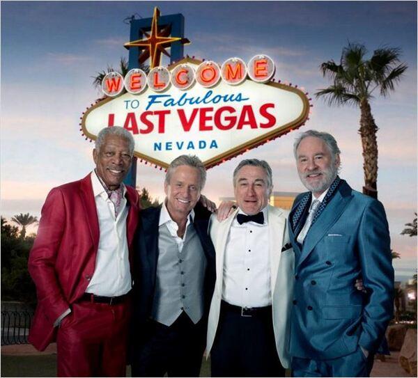 Un film dans l'avion [Last Vegas]