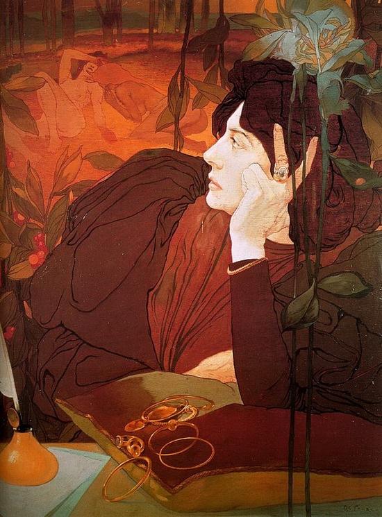 Georges De Feure, La voie du mal