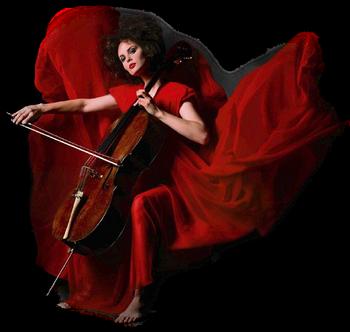 tube femme au violon