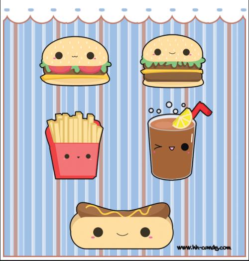 nourriture kawaii :)