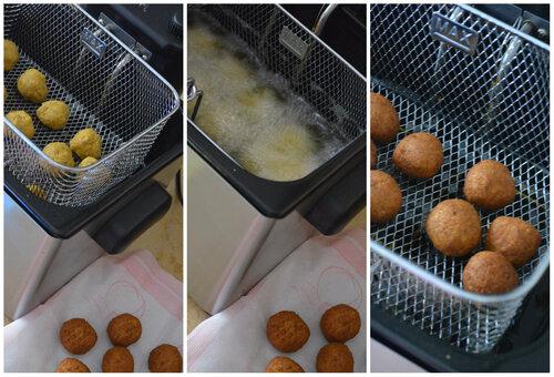Boulettes de Lentilles de Corail & sa sauce Yaourt à la menthe...
