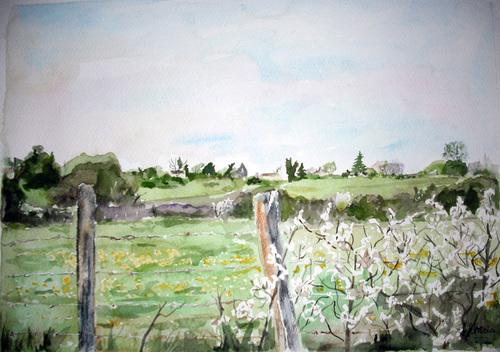 La vallée de l'Engranne