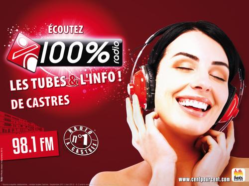 100% Radio Nouvelle campagne de promotion 2012