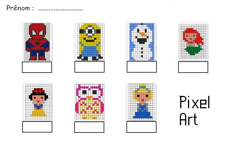 Pixel Art Les Outils De Malinous