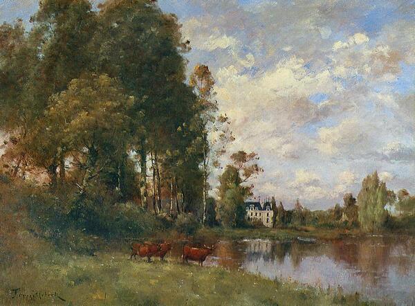 Peinture de : Paul-Désiré Trouillebert