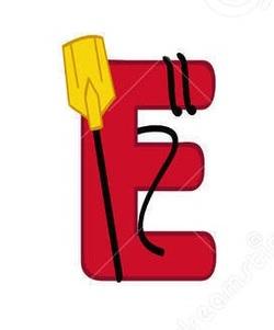 Alphabet de la mer : le E.