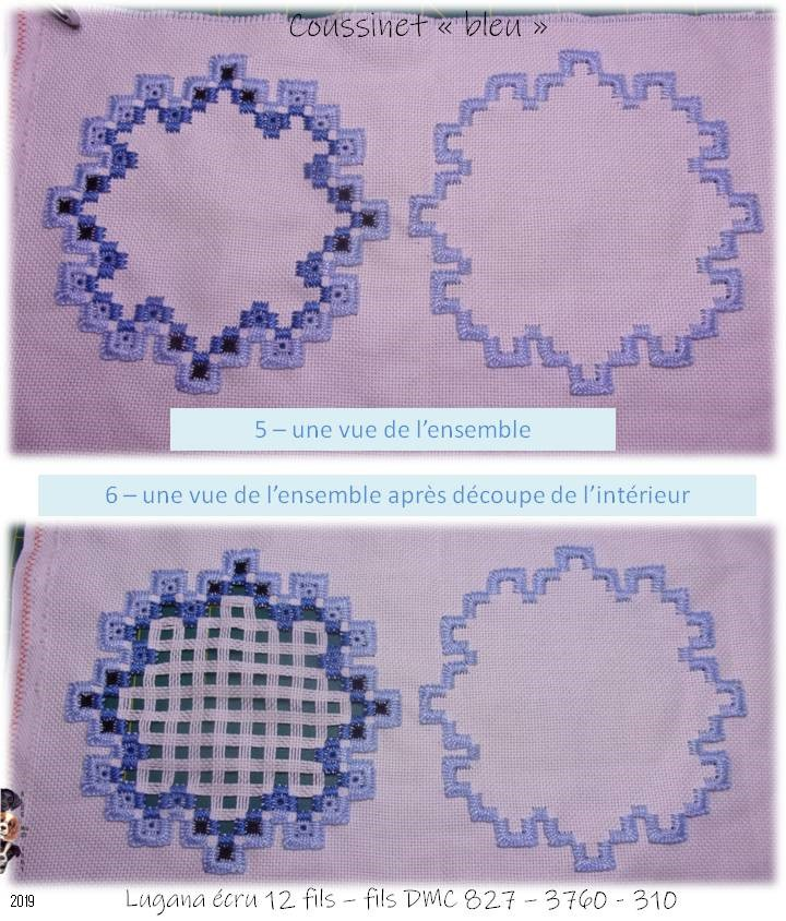 "Coussinet ""bleu"" *1"