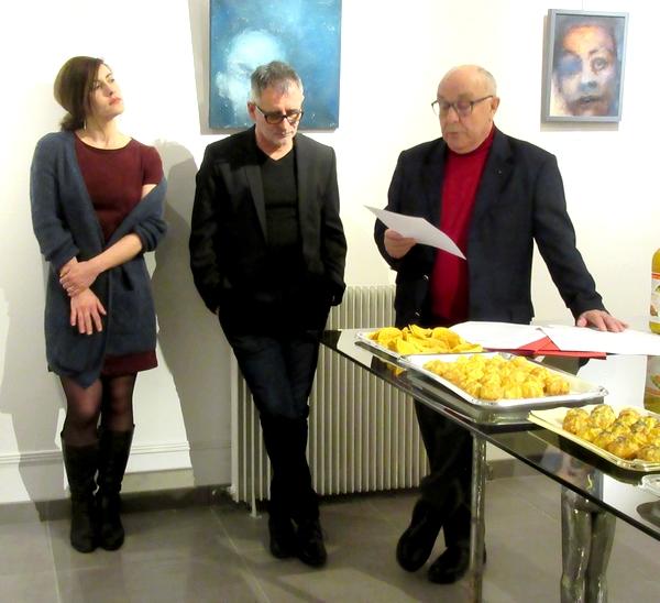 Hellen Halftermeyer expose à la Galerie d'Or et d'Art de Châtillon sur Seine