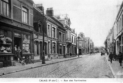 La rue des Fontinettes