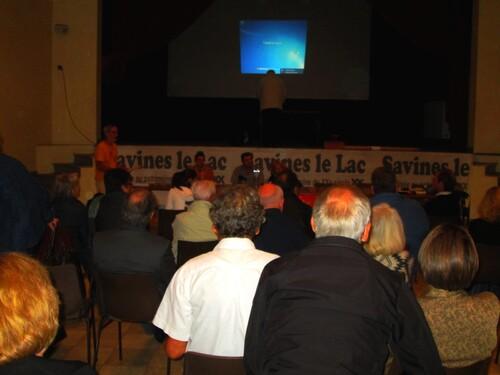SAVINES LE LAC(05) Journée Internationale de la Libre Pensée avec Louise Michel et LP04 &05