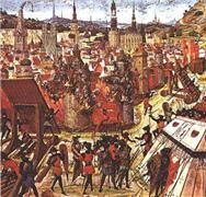 La prise de Jérusalem en 1099