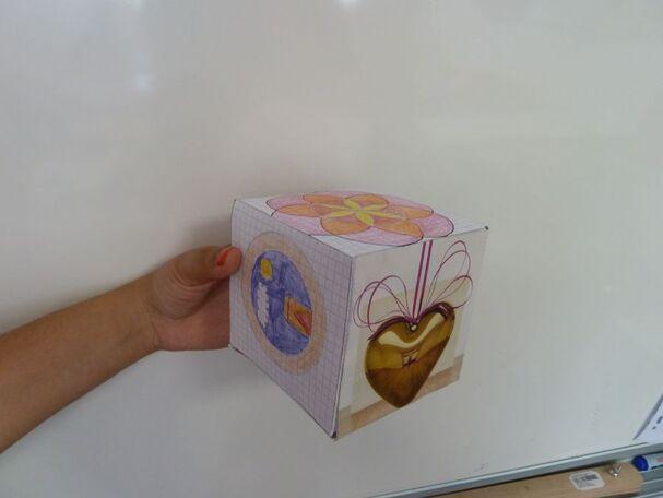 2/ Le cube