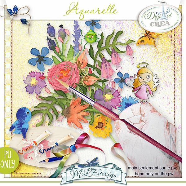 Aquarelle by MLDesign