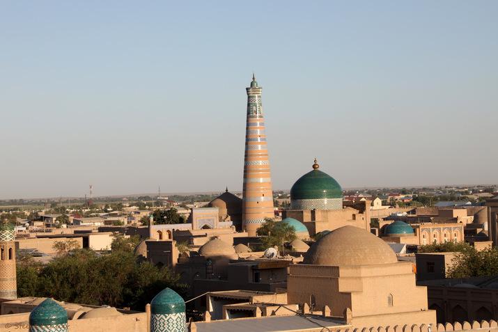 Khiva, Itchan Kala, Route de la Soie, Ouzbékistan 2019