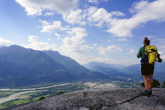 Squamish, capitale canadienne des sports de plein air... (photo Audrey Ruel-Manseau, la presse)
