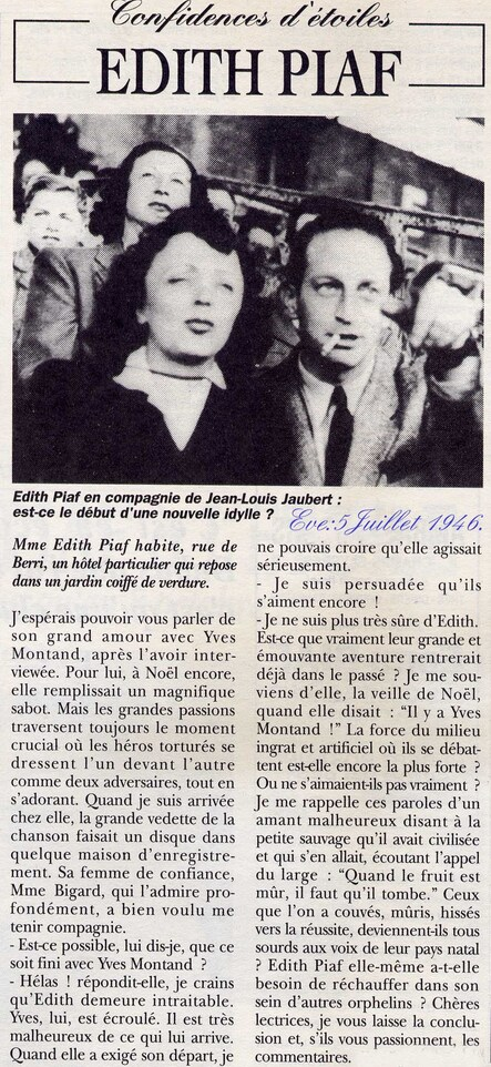 L'interview de Jean-Louis par Martine Chardon...