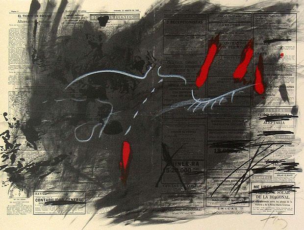 Antoni Tàpies, le poète de la matière...