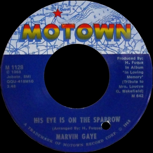 "Marvin Gaye : Album "" In The Groove "" Tamla Records TS 285 [ US ]"