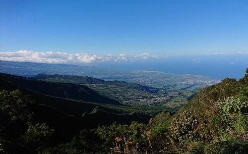 Panorama depuis le point de vue du Sentier du Gol