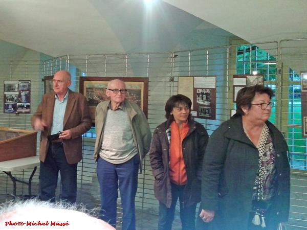 Vernissage de l'exposition sur Pierre Garnier salle des Bénedictines