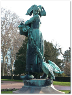 Marie Anne, la maman d'Emile Théophile