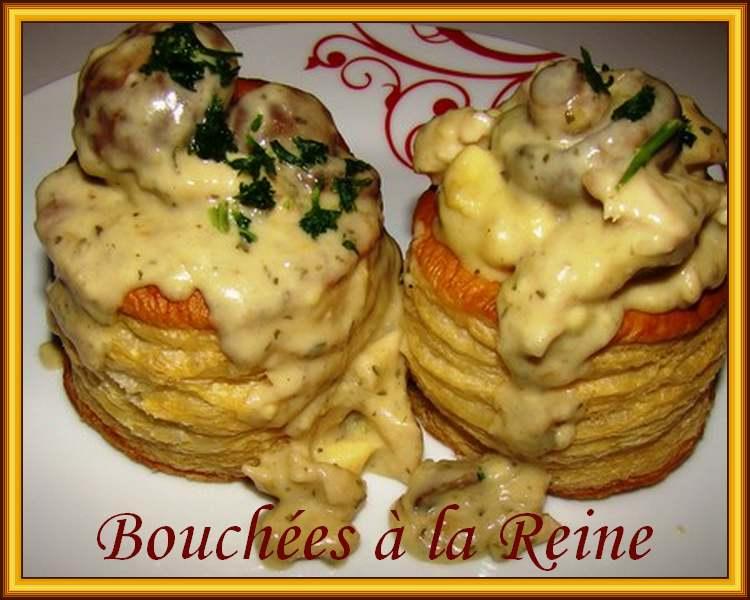 Recette de cuisine : Bouches à la Reine