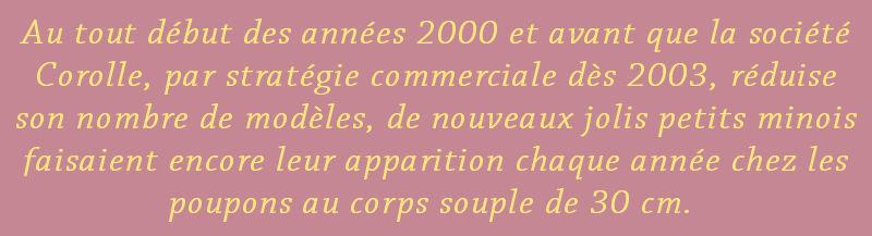 Corolle 2001 : Pti Filou Tidou