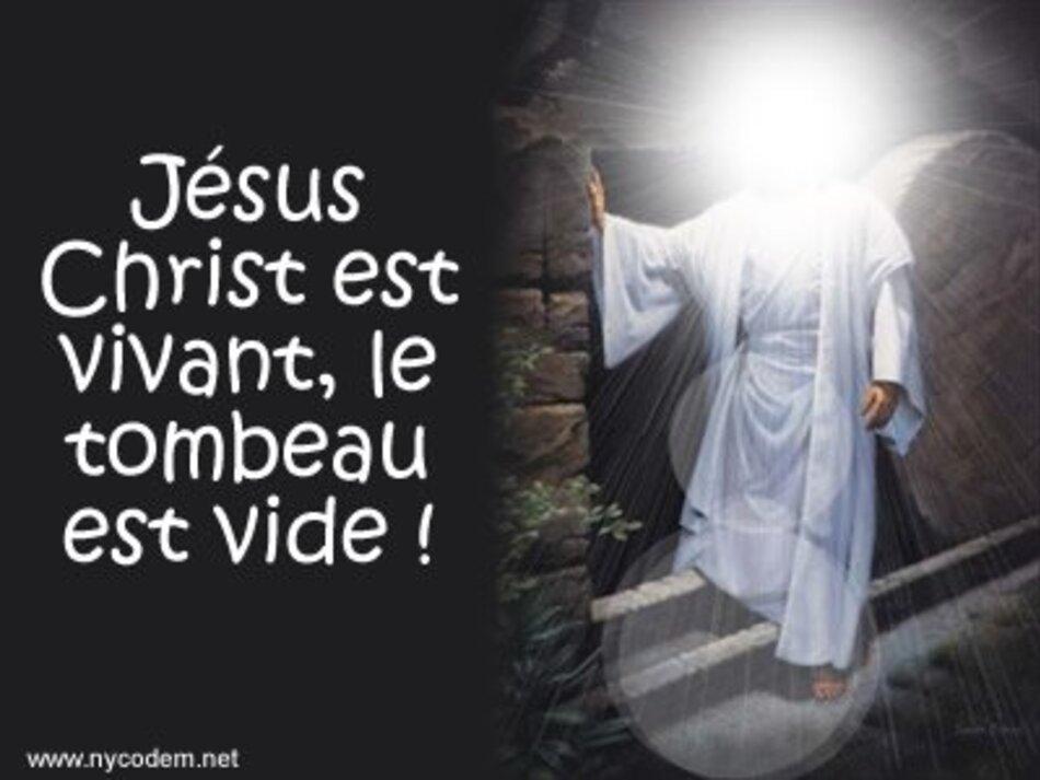Christ est ressuscité Alléluia!