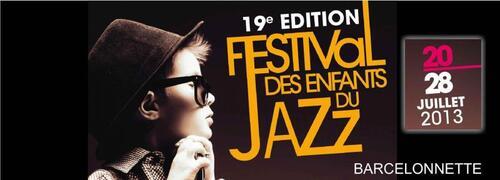 20 au 28 juillet : Festival les enfants du jazz, Barcelonnette