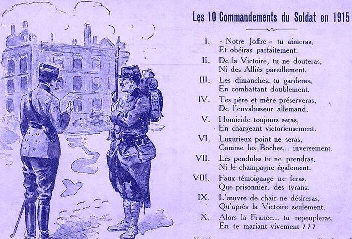 """"""" Saloperie """" de  guerre !"""