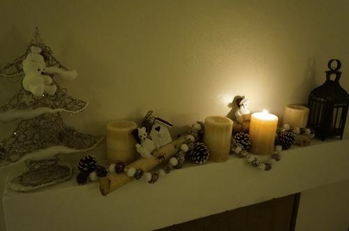 Les bougies de l'Avent donnent le ton
