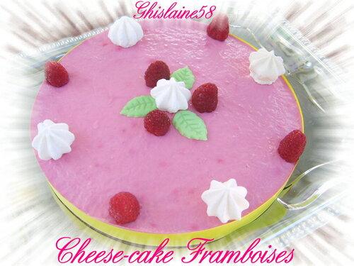 Cheese-cake Framboises