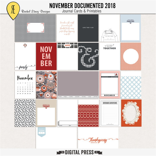 Template A boy life-kit November documented