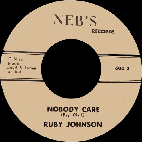 "Ruby Johnson : CD "" The Singles Collection 1955-1968 "" Soul Bag Records DP 99 [ FR ]"