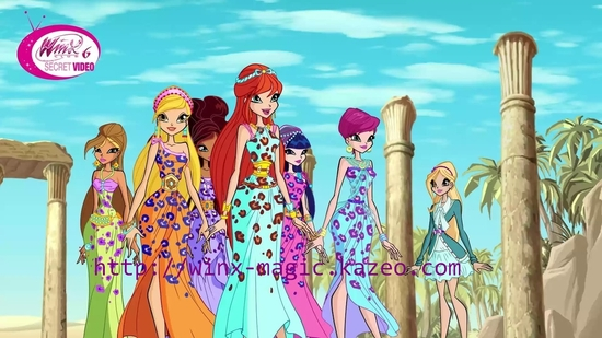 Winx Princesses Félines