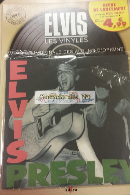 N° 1 les vinyls Elvis - Test