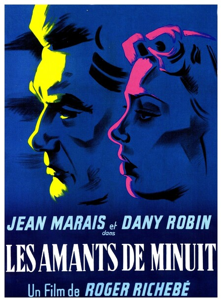 LES AMANTS DE MINUIT - BOX OFFICE JEAN MARAIS 1953