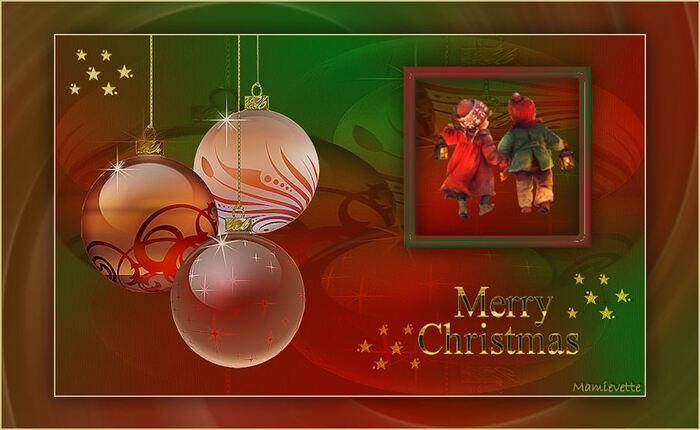 Joyeux Noël avec Mamievette !