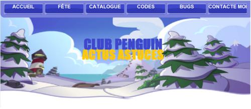 À propos de Club Penguin Actus Astuces
