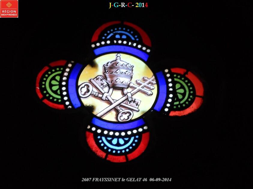 EGLISE  DE FRAYSSINET LE GELAT 46 06/09/2014  D 28/02/2015
