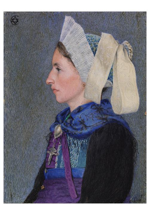 Le tableau du samedi : les costumes de Savoie par Estella Canziani