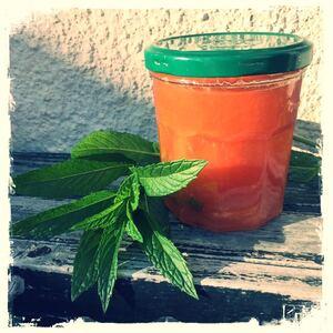 Confiture de melon & menthe