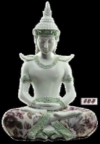 Moine Bouddhiste et Bouddha
