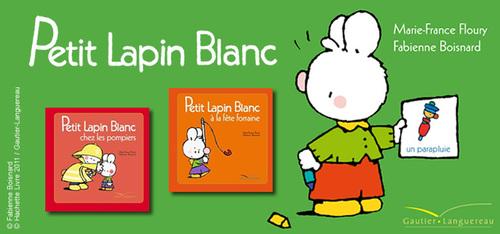 Les livres de Petit Lapin Blanc