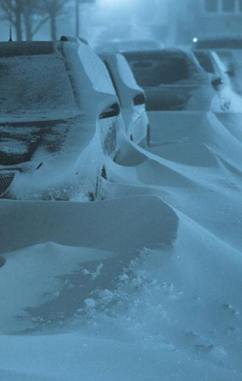 le réchauffement climatique ne nous protège pas d'une violente vague de froid.