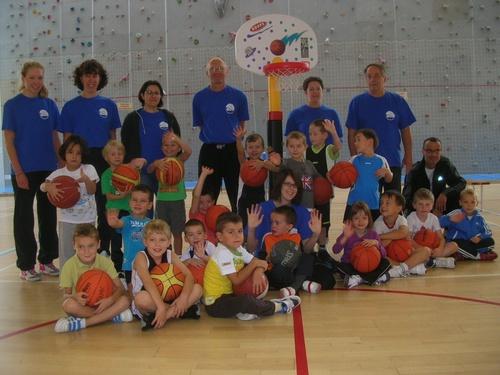 Article sur le baby-basket paru dans Vosges Matin