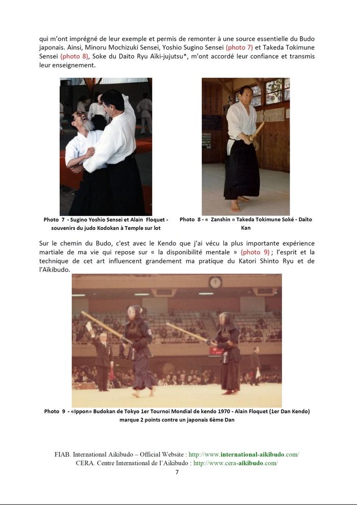La genèse de l'Aïkibudo par Maître Alain Floquet