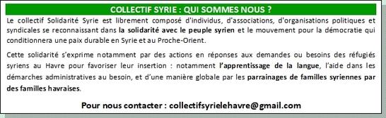 Révolution et guerre en Syrie : 7 ans déjà !