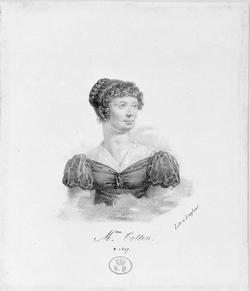 Mme Cottin, Claire d'Albe