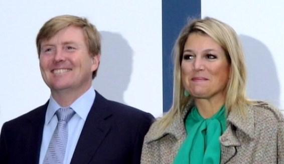 Maxima et Willem Alexander au colloque